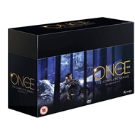 Once Upon A Time - The Complete Series - Sesong 1-7 (UK-import) (DVD)