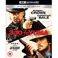 Produktbilde for 3:10 To Yuma (UK-import) (4K Ultra HD + Blu-ray)