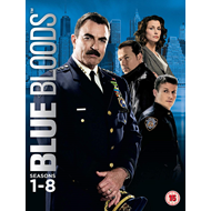 Blue Bloods - Sesong 1-8 (UK-import) (DVD)