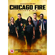 Produktbilde for Chicago Fire - Sesong 6 (UK-import) (DVD)