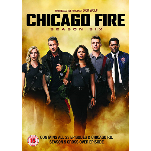 Chicago Fire - Sesong 6 (UK-import) (DVD)