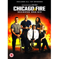 Chicago Fire - Sesong 1-6 (UK-import) (DVD)