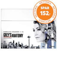 Produktbilde for Grey's Anatomy - Sesong 1-14 (UK-import) (DVD)
