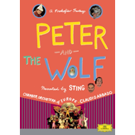 Produktbilde for Peter And The Wolf: Narrated By Sting (UK-import) (DVD)