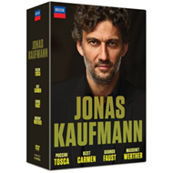 Produktbilde for Jonas Kaufmann: Carmen/Tosca/Faust/Werther (UK-import) (DVD)
