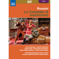 Produktbilde for La Cambiale Di Matrimonio: Rossini Opera Festival (Michelangeli) (UK-import) (DVD)