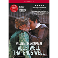 Produktbilde for All's Well That Ends Well: Globe Theatre (UK-import) (DVD)