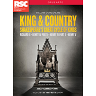 King & Country - Shakespeare's Great Cycle Of Kings (UK-import) (DVD)