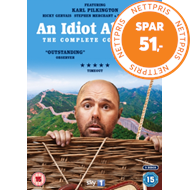 Produktbilde for Idiot Abroad: The Complete Collection (UK-import) (DVD)