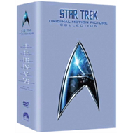 Produktbilde for Star Trek: The Movies 1-6 (UK-import) (DVD)