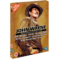 Produktbilde for The John Wayne Westerns Collection (UK-import) (DVD)