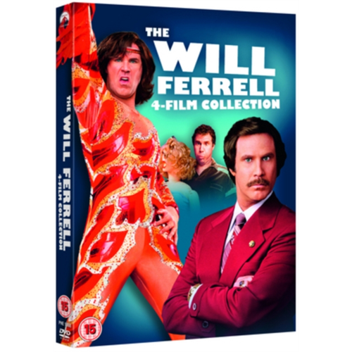 The Will Ferrell 4-Film Collection (UK-import) (DVD)