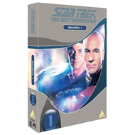Produktbilde for Star Trek The Next Generation: The Complete Season 1 (UK-import) (DVD)