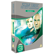 Star Trek The Next Generation: The Complete Season 3 (UK-import) (DVD)