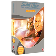 Produktbilde for Star Trek The Next Generation: The Complete Season 5 (UK-import) (DVD)
