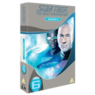 Star Trek The Next Generation: The Complete Season 6 (UK-import) (DVD)