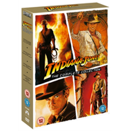Produktbilde for Indiana Jones: The Complete Collection (UK-import) (DVD)