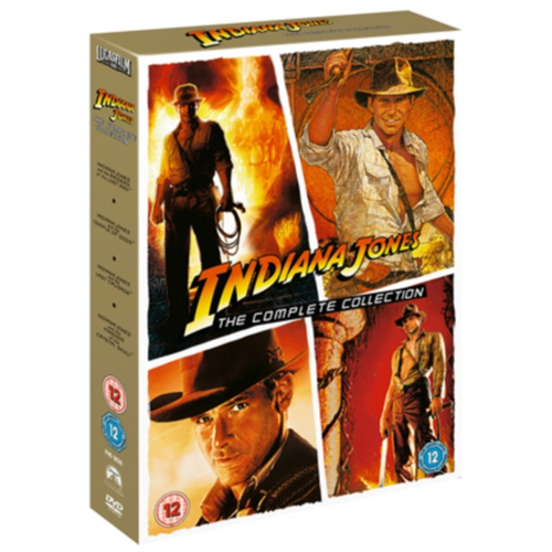 Indiana Jones The Complete Collection Uk Import Dvd