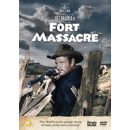Produktbilde for Fort Massacre (UK-import) (DVD)