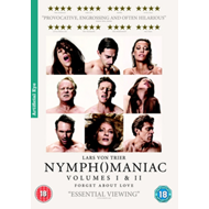 Produktbilde for Nymphomaniac: Volumes I And II (UK-import) (DVD)