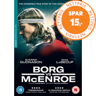Produktbilde for Borg Vs. Mcenroe (UK-import) (DVD)