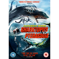 Produktbilde for Jurassic Wars - Sharktopus Vs. Pteracuda (UK-import) (DVD)