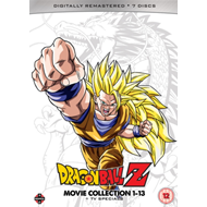 Produktbilde for Dragon Ball Z: Movie Collection 1-13 + TV Specials (UK-import) (DVD)