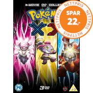 Produktbilde for Pokémon: The Movie Collection 17-19 - XY (UK-import) (DVD)