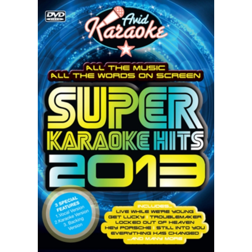 Super Karaoke Hits 2013 (UK-import) (DVD)