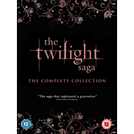 Twilight Saga: The Complete Collection (UK-import) (DVD)