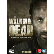 The Walking Dead: The Complete First, Second & Third Season (UK-import) (DVD)