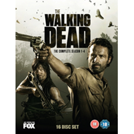 Walking Dead: The Complete Season 1-4 (UK-import) (DVD)