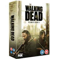 Walking Dead: The Complete Seasons 1-5 (UK-import) (DVD)