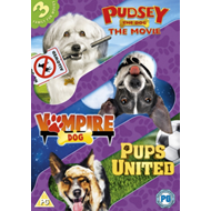 Pudsey The Dog Movie/Pups United/Vampire Dog (UK-import) (DVD)