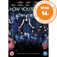Produktbilde for Now You See Me 2 (UK-import) (DVD)