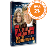 Produktbilde for The Return Of The Six Million Dollar Man And The Bionic Woman (UK-import) (DVD)