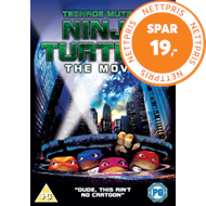 Teenage Mutant Ninja Turtles (UK-import) (DVD)