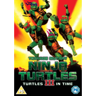 Teenage Mutant Ninja Turtles 3 - Turtles In Time (UK-import) (DVD)