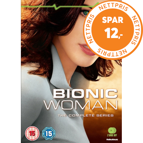 Bionic Woman: The Complete Series (UK-import) (DVD)