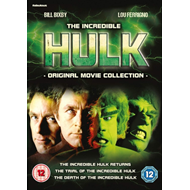 The Incredible Hulk: Original Movie Collection (UK-import) (DVD)