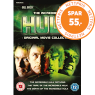 Produktbilde for The Incredible Hulk: Original Movie Collection (UK-import) (DVD)