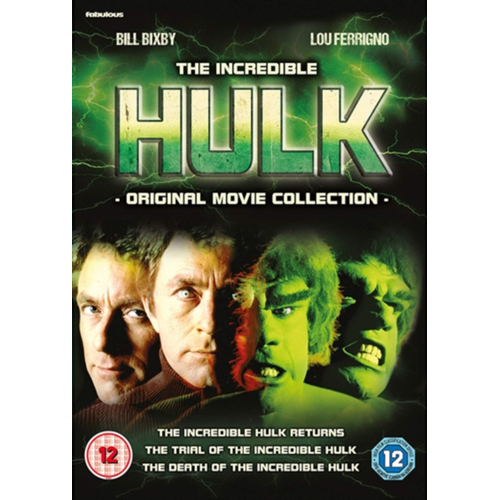 1f97920f2e2a The Incredible Hulk: Original Movie Collection (UK-import)