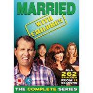 Married With Children / Våre Verste År: The Complete Series (UK-import) (DVD)