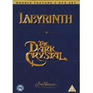 Produktbilde for Labyrinth/The Dark Crystal (UK-import) (DVD)