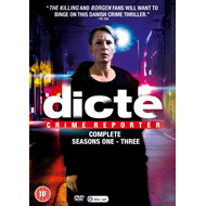 Dicte - Crime Reporter: The Complete Seasons 1-3 (UK-import) (DVD)