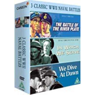 Battle Of The River Plate/In Which We Serve/We Dive At Dawn (UK-import) (DVD)