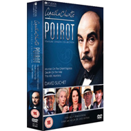 Produktbilde for Agatha Christie's Poirot: Collection (UK-import) (DVD)