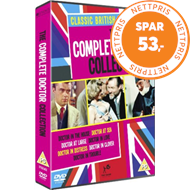 Produktbilde for The Complete Doctor Collection (UK-import) (DVD)