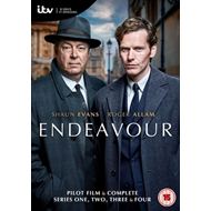 Endeavour: Complete Series 1- 4 (UK-import) (DVD)