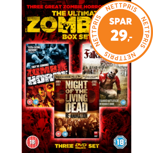 The Ultimate Zombies Collection Uk Import Dvd